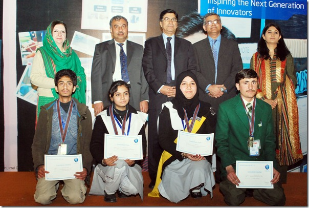 Intel Announces Winners at National Science Fair