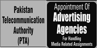 PTA looking for Advertising Agencies
