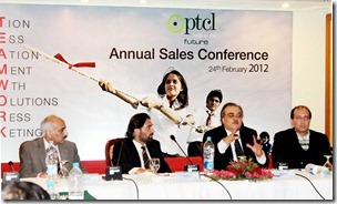 PTCL Hold Annual Sales Conference 2012