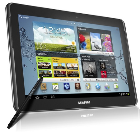 Samsung Galaxy Note 10.1 Tablet with S Pen