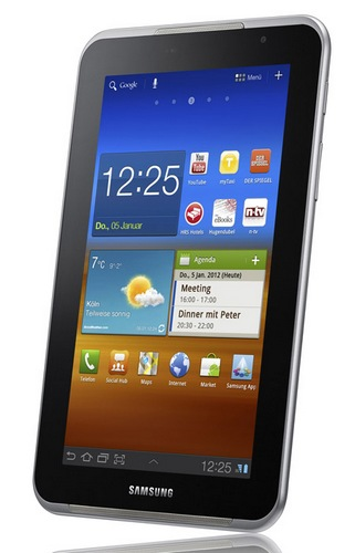 Samsung Galaxy Tab 7.0 Plus N Tablet Announced