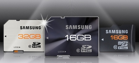 Samsung High Speed Memory Cards