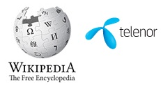 Telenor Offers Free Wikipedia Browsing
