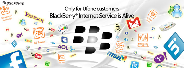 Ufone has Restored Blackberry Services in Pakistan