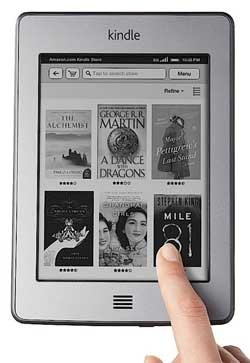 Wi-Fi Kindle Touch is Now On Sale Internationally