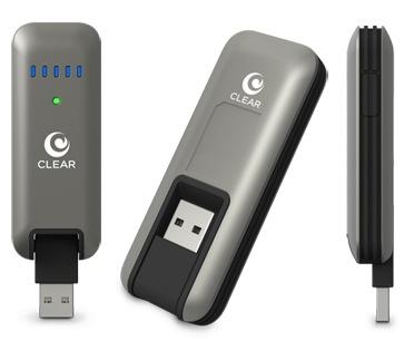 Clearwire CLEAR Stick Atlas USB 4G Modem