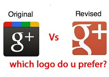 Google Plus Icon Now Red