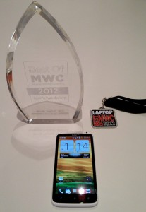 HTC One X Secures Two Awards at MWC 2012