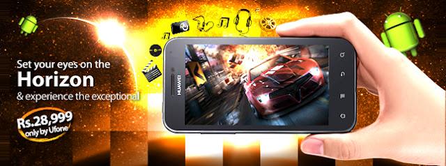 Ufone Offers Huawei Horizon Smartphone