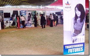 Warid Telecom Supports IBA Career Fair 2012