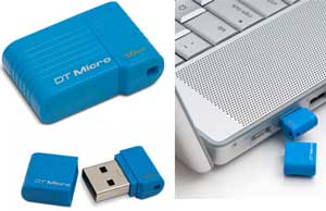 Smallest USB Flash Drive - DataTraveler Micro