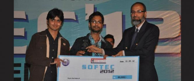 LUMS Students Win at Softec 2012