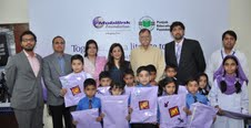Mobilink Foundation donates 2000 School Bags to PEF