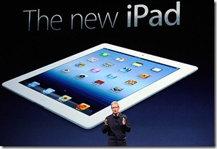 Apple Unveils new iPad