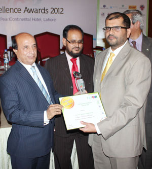 PTCL gets CSR Business Excellence Award 2012