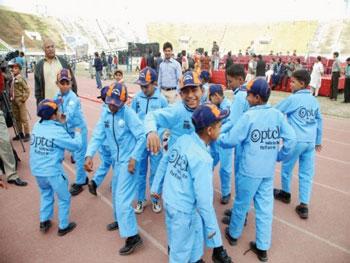 PTCL Donates Rs. 2.3 Million to Pakistan Sweet Homes