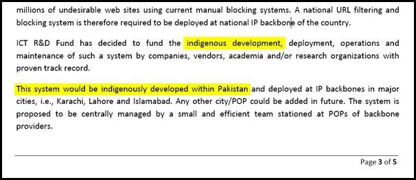 Cisco, Mcafee, Websense will not Help Pakistan