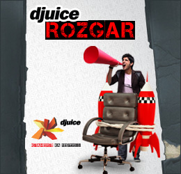 Djuice Presents ROZGAR Service