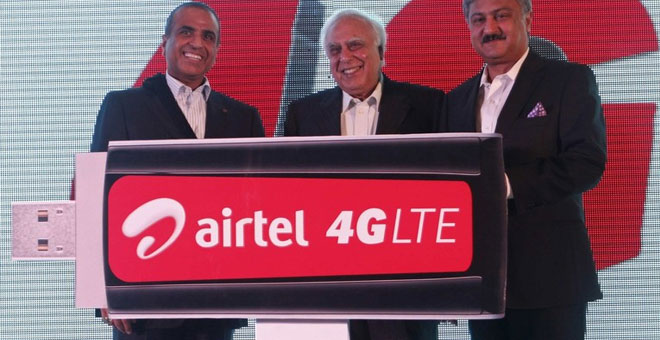 India Gets its First 4G LTE Network