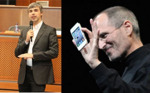 Android Stealing iOS Story dismissed by Larry Page
