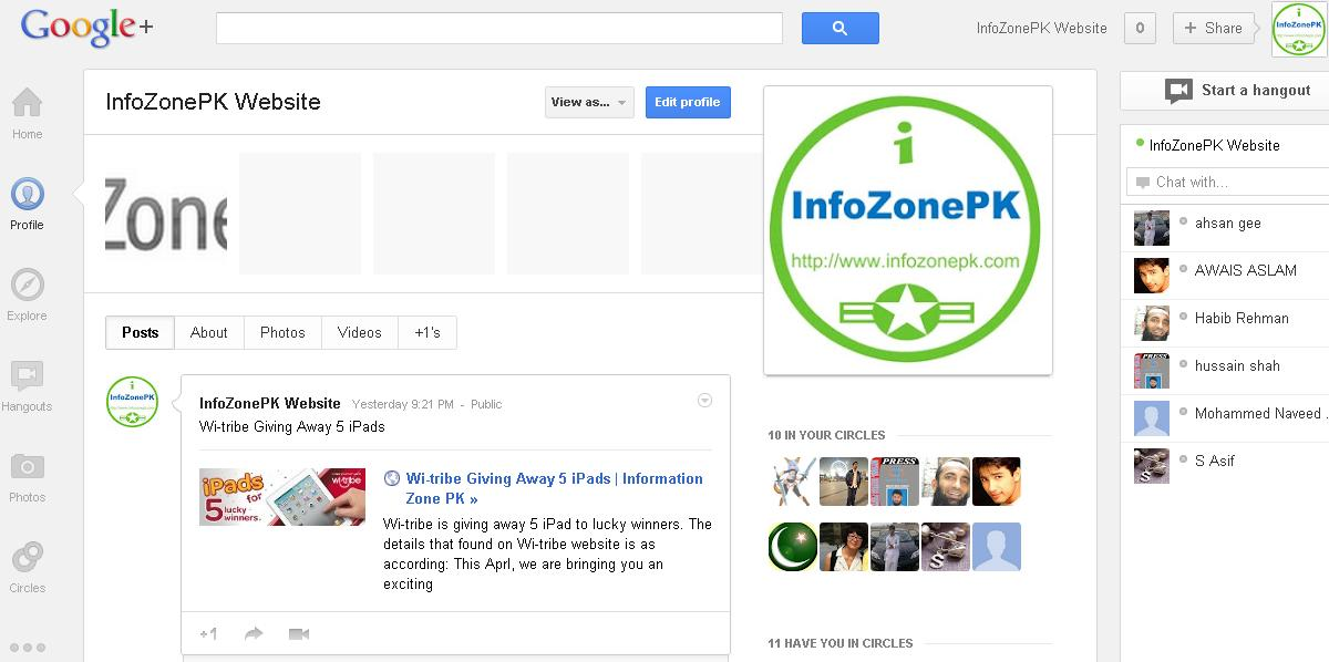 Google+ Got a New Fresh Look