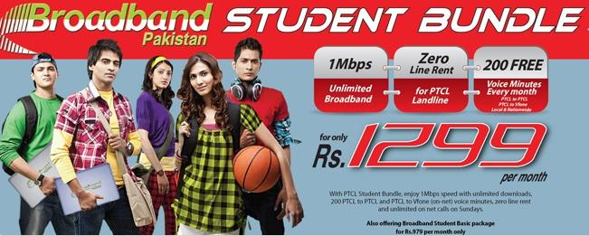 PTCL Re-launches Broadband Student Bundle Package