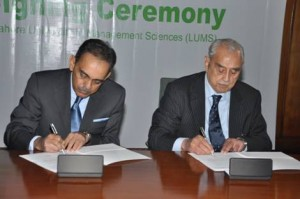 SCB Donates Rs. 9.6 Million for Scholarship to LUMS