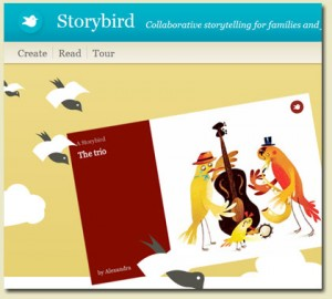 Make Your Own Stories Online by Storybird