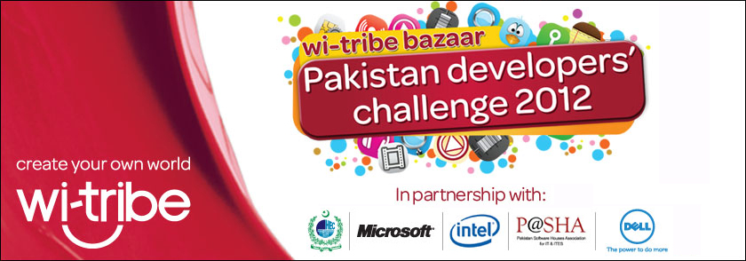 Wi-tribe Brings Pakistan Developers Challenge 2012