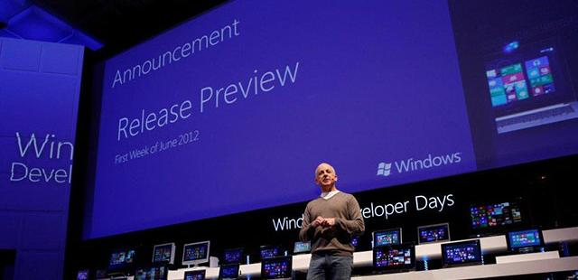 Windows 8 Release Preview to Come in First Week of June