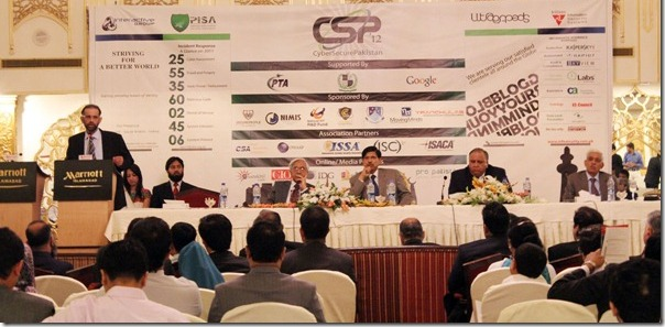 Cyber Secure Pakistan, 2012 Conference held in Islamabad