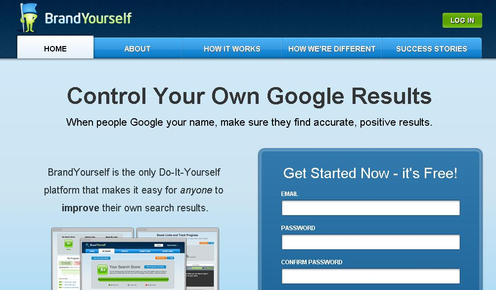 Control Your Own Google Results with BrandYourself