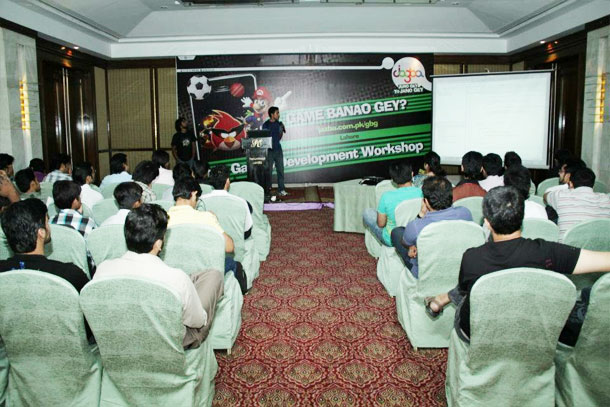Mobilink Jazba Organized Mobile Gaming Application Workshop