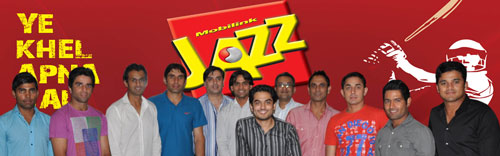 Mobilink Makes Cricket Stars As Brand Ambassadors