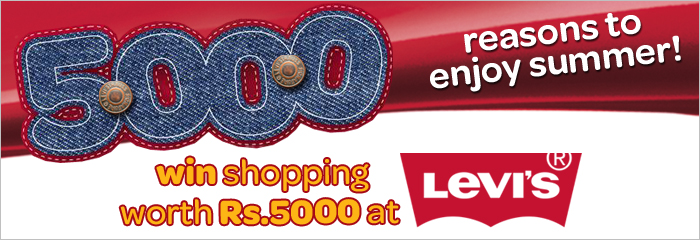 Wi-tribe Offers Free Shopping of Rs. 5000 at Levi's