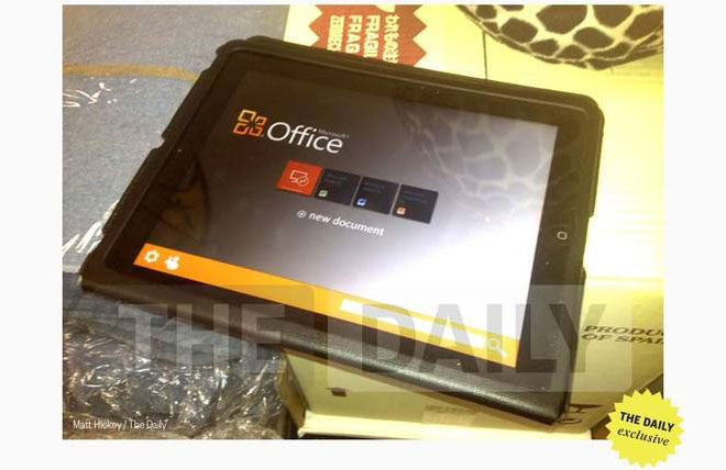 Microsoft to Release iOS and Android Version of Office in November