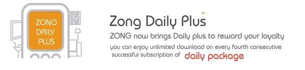 Zong Brings Daily Plus to Reward Its Customers