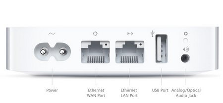 Apple AirPort Express Updated with Simultaneous dual-band 802.11n