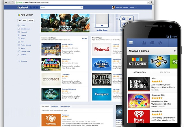 Facebook App Center Goes Live