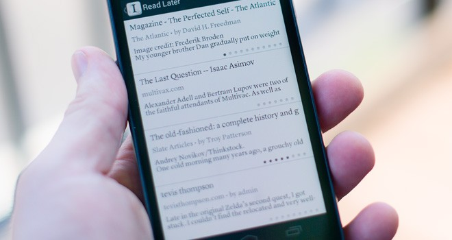 Instapaper Gets Ported to Android
