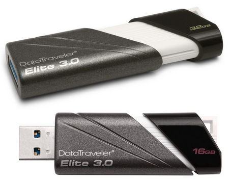 Kingston DataTraveler Elite 3.0 USB 3.0 Flash Drive