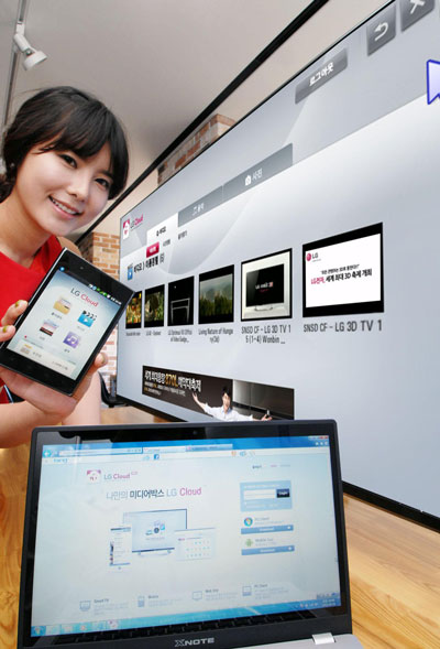 LG Brings Cloud Services for Smartphones, TV and PC