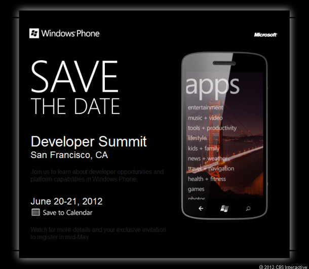 Microsoft to Announce Windows Phone 8 expectantly
