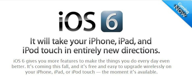 iOS 6 Beta Download Links Now Available