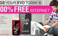 PTCL Offers 100% Free Internet on Recharge Your EVO Devices