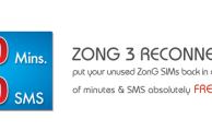 Zong Brings Free Minutes and SMS with 'Zong 3 Reconnection' Offer
