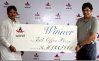 Warid Announced the Winner of Bumper Prize of Rs. 1 Crore for Eid Offer