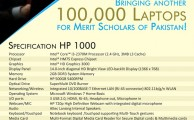 Shahbaz Sharif to Distribute 100,000 HP Laptops in Punjab