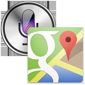 SiriGoogleMaps