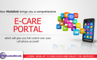 Mobilink Launched E-Care Portal for its Prepaid Customers